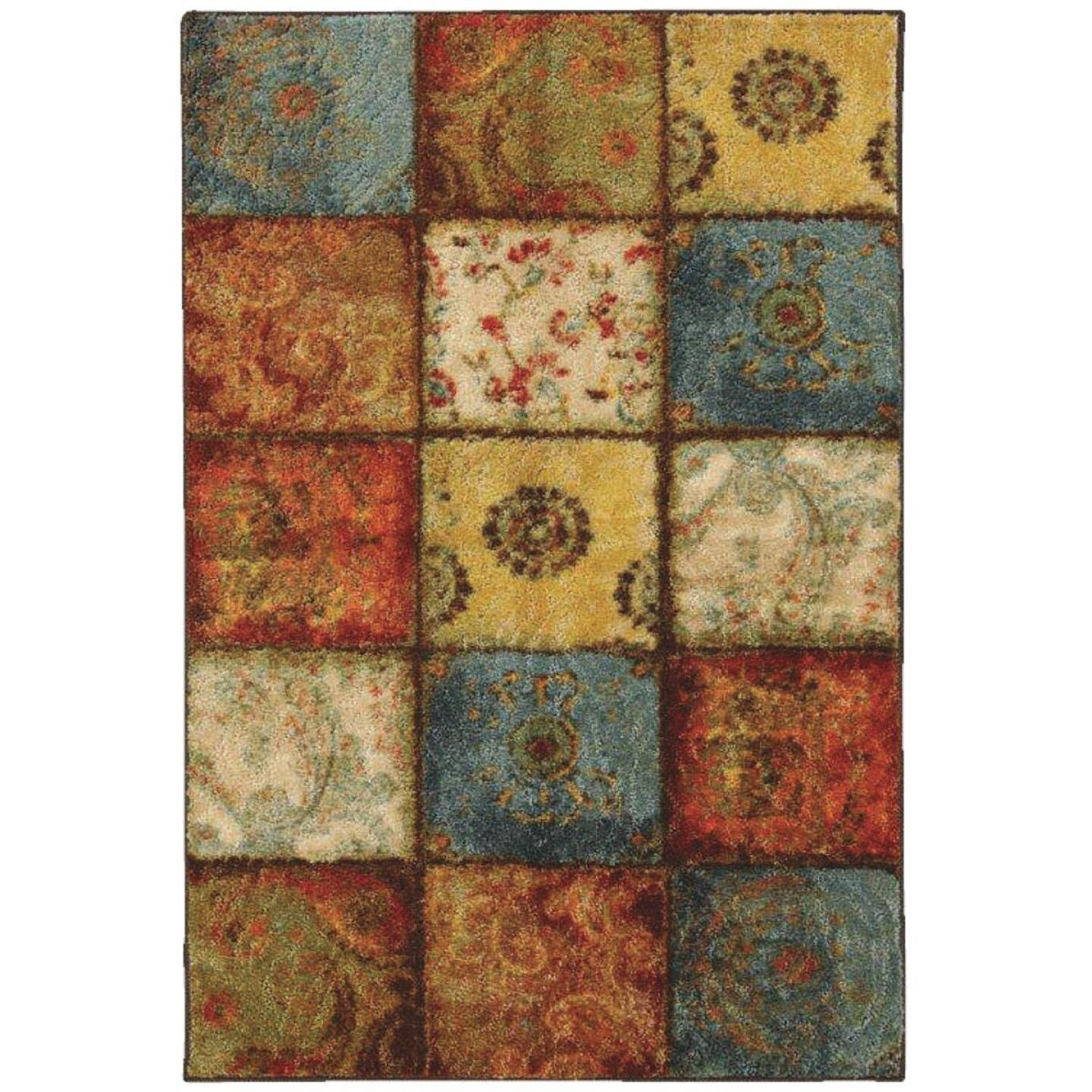 Mohawk Home Artifact Multi-Panel 5 Ft. x 8 Ft. Area Rug Image 1