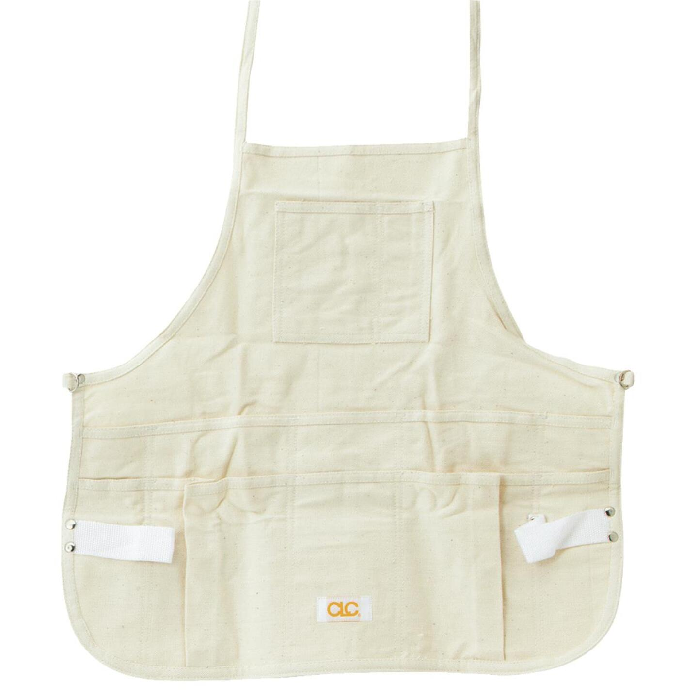 Custom Leathercraft 12-Pocket Canvas Bib Apron Image 1