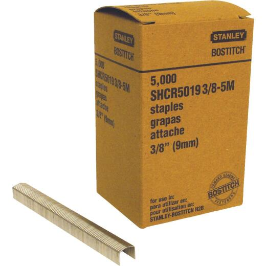 Bostitch Powercrown H2B Hammer Tacker Staple, 3/8 In. (5000-Pack)