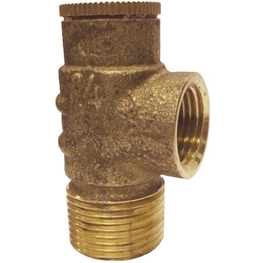 Simmons 3/4 In. Brass Pressure Relief Valve