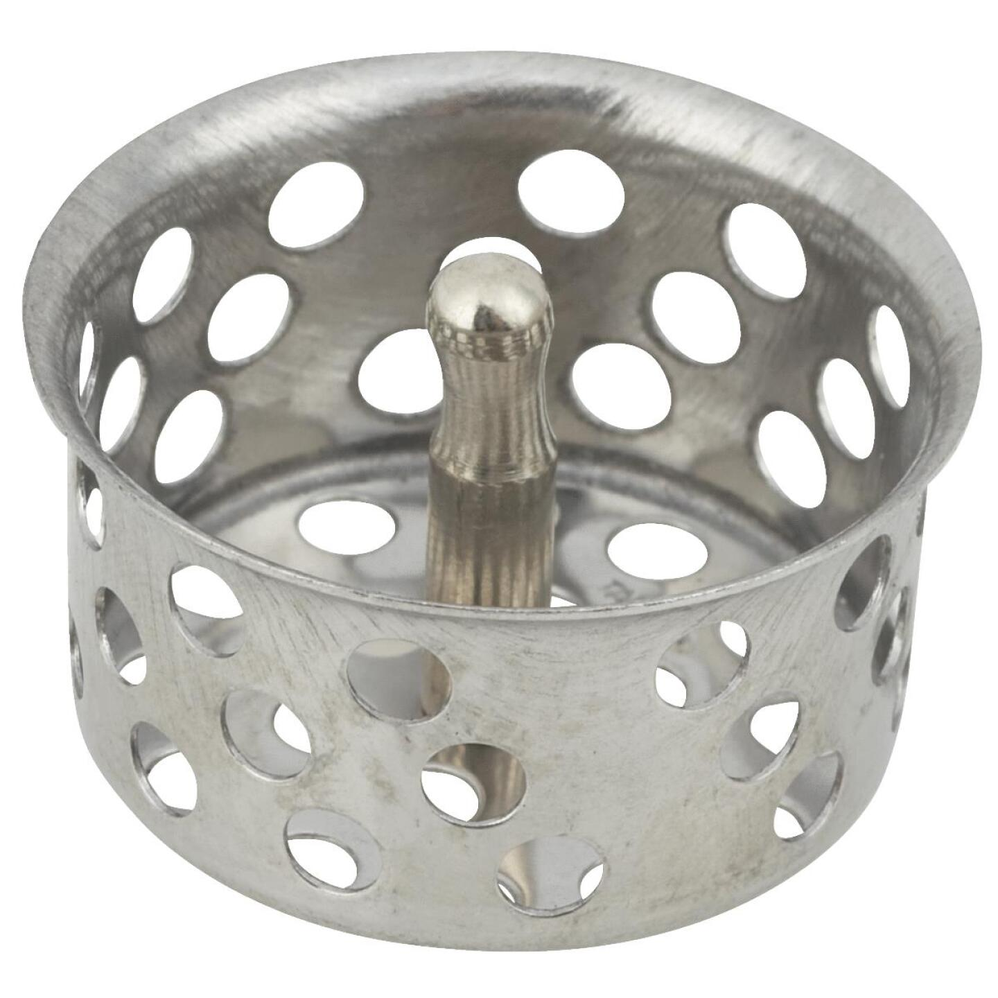 Do it 1-1/2 In. Chrome Removable Strainer Cup with Post  Image 1