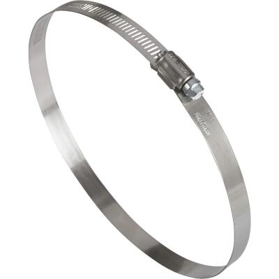 Ideal 5 In. - 7 In. 57 Stainless Steel Hose Clamp with Zinc-Plated Carbon Steel Screw