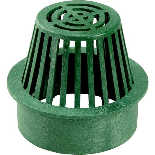 NDS 6 In. Green Structural Foam Polyethylene Atrium Grate