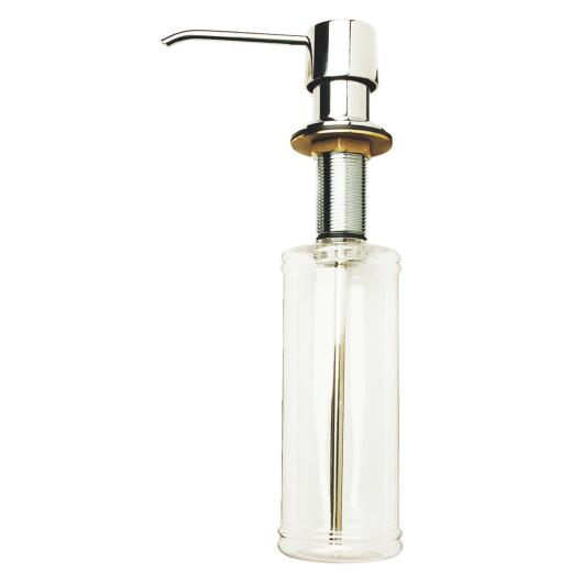 Do it Polished Chrome Clear Body Soap Dispenser