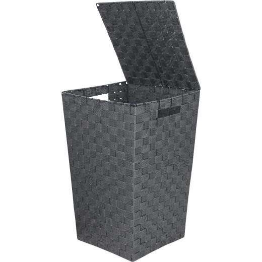 Home Impressions 13 In. x 20.5 In. H. Woven Laundry Hamper, Gray