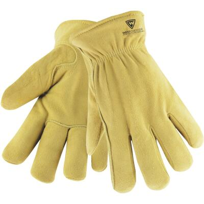 West Chester Men's Large Deerskin Leather Winter Work Glove