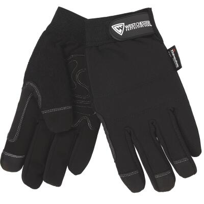 West Chester Men's Large Polyester High Dexterity Winter Work Glove