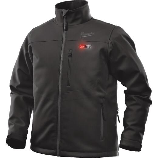 Milwaukee M12 2XL Black Cordless Heated Jacket Kit