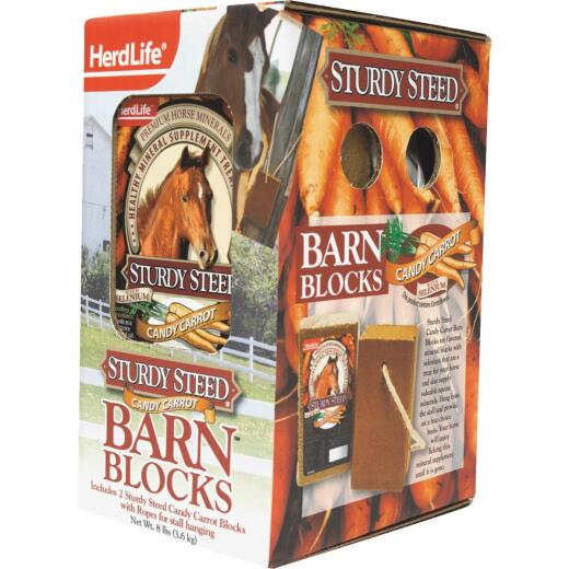 2 PK-CARROT BARN BLOCKS