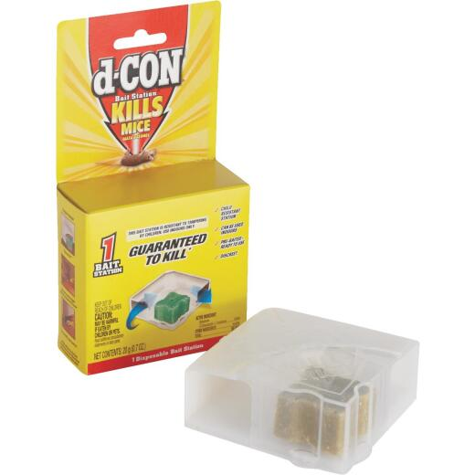 D-Con Disposable Mouse Bait Station (1-Pack)