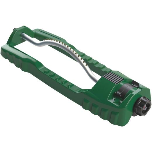 Orbit Plastic 3600 Sq. Ft. Green Oscillating Sprinkler