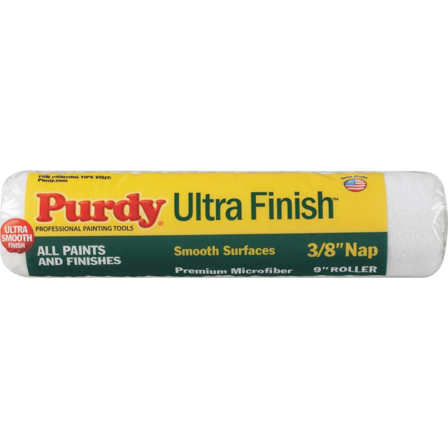 Purdy Ultra Finish 9 In. x 3/8 In. Microfiber Roller Cover Image 1