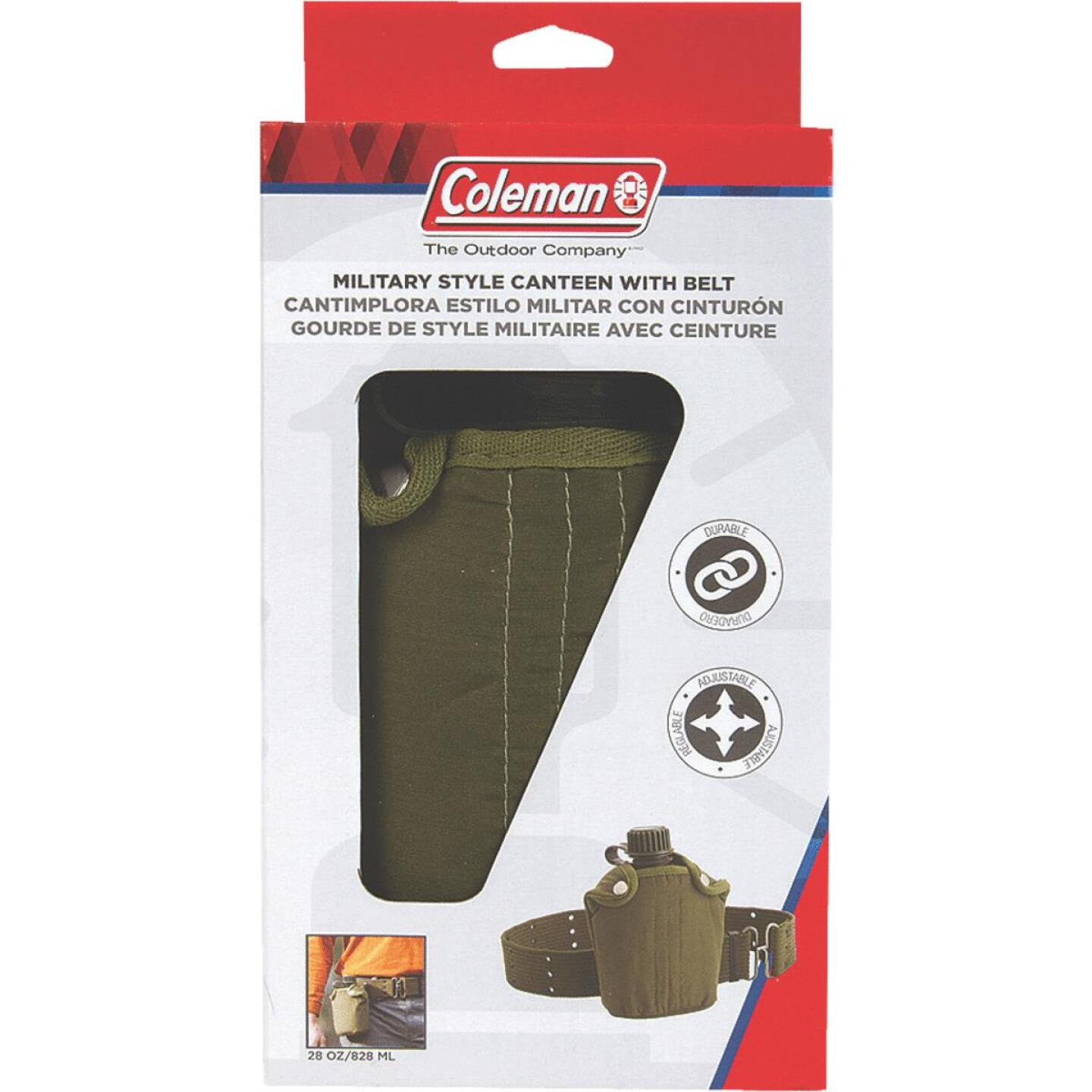 Coleman 28 Oz. Military Style Canteen Image 2