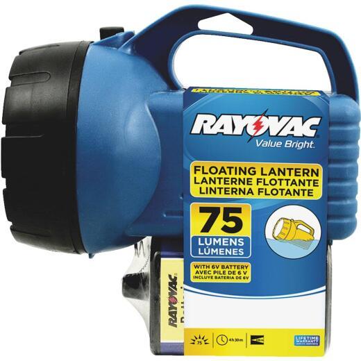 Rayovac 7 In. W. x 7.5 In. H. Plastic Lantern