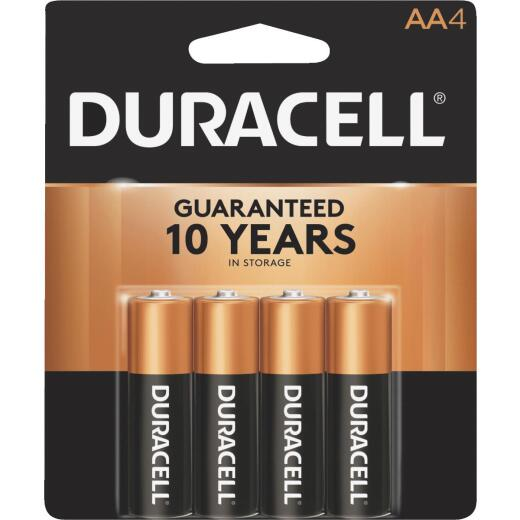 Duracell CopperTop AA Alkaline Battery (4-Pack)