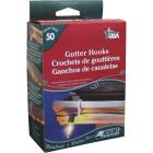 Adams White Gutter Light Clips (50-Pack) Image 4