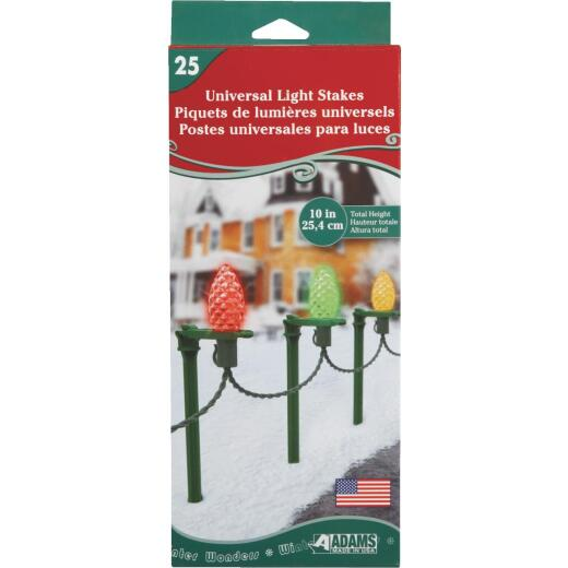 Adams 10 In. H. Universal Light Stake (25-Pack)